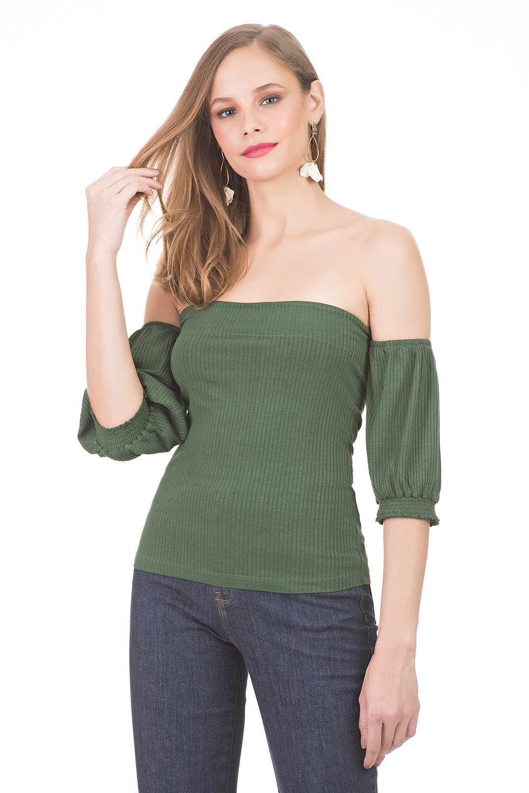 BLUSA KOLLOK OFF SHOULDER